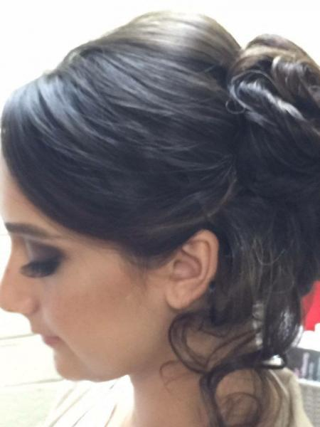 We give all over fabulous looks for brides, from longer lashes to make your eyes wow the crowd to an elegant hair style that you will not have to worry about falling!